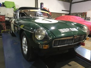 1967 MGB MK1 race car For Sale