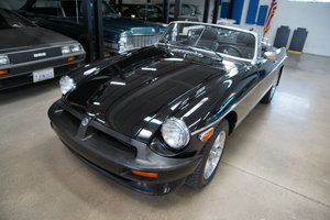 1980 MGB Limited Edition Roadster with 25K original miles SOLD