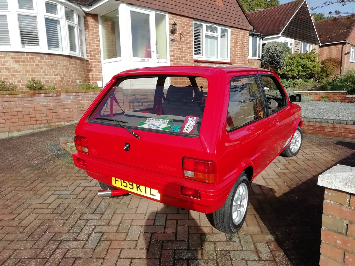 1989 MG Metro Mk 2  SOLD (picture 4 of 6)