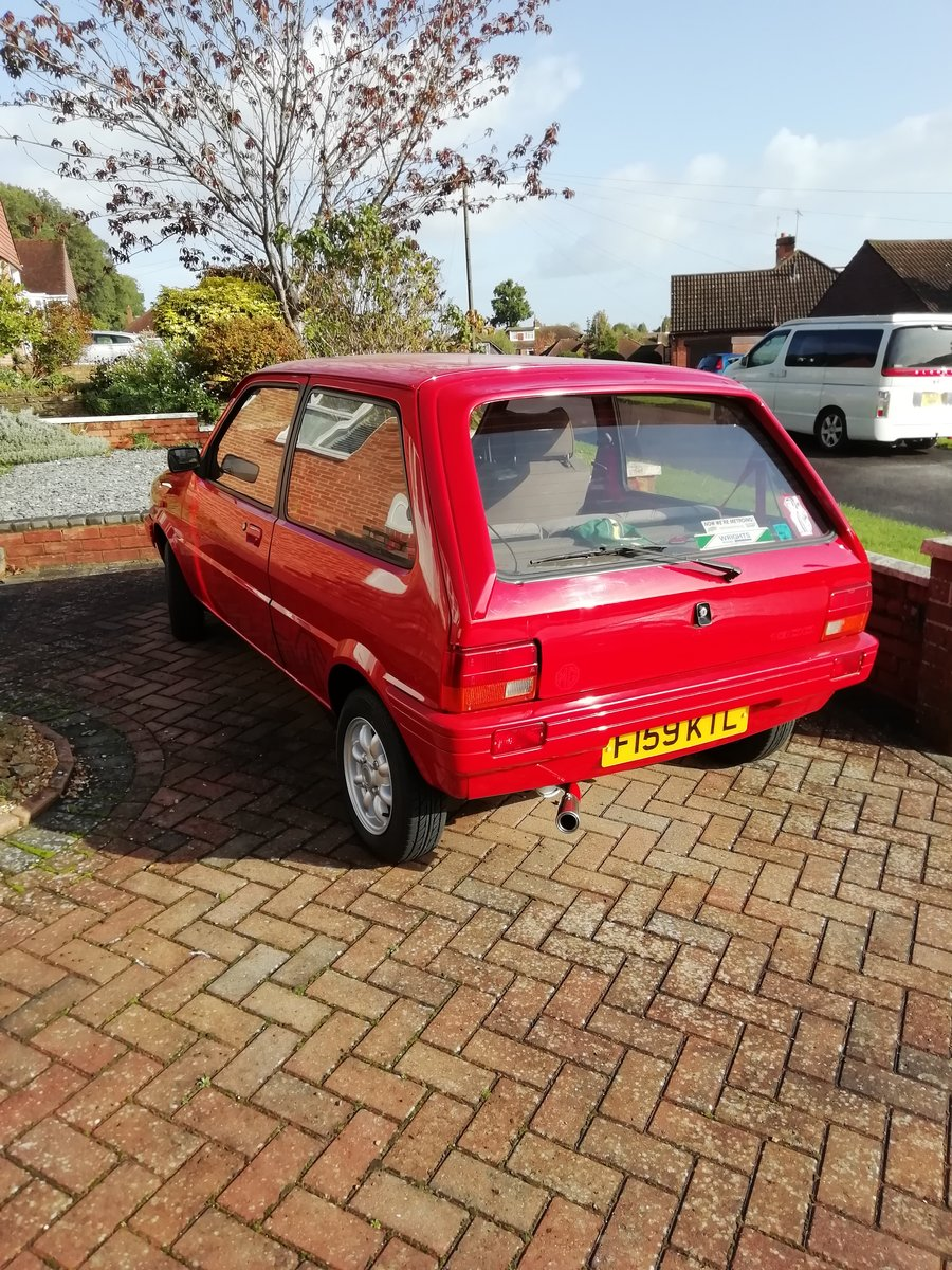 1989 MG Metro Mk 2  SOLD (picture 5 of 6)