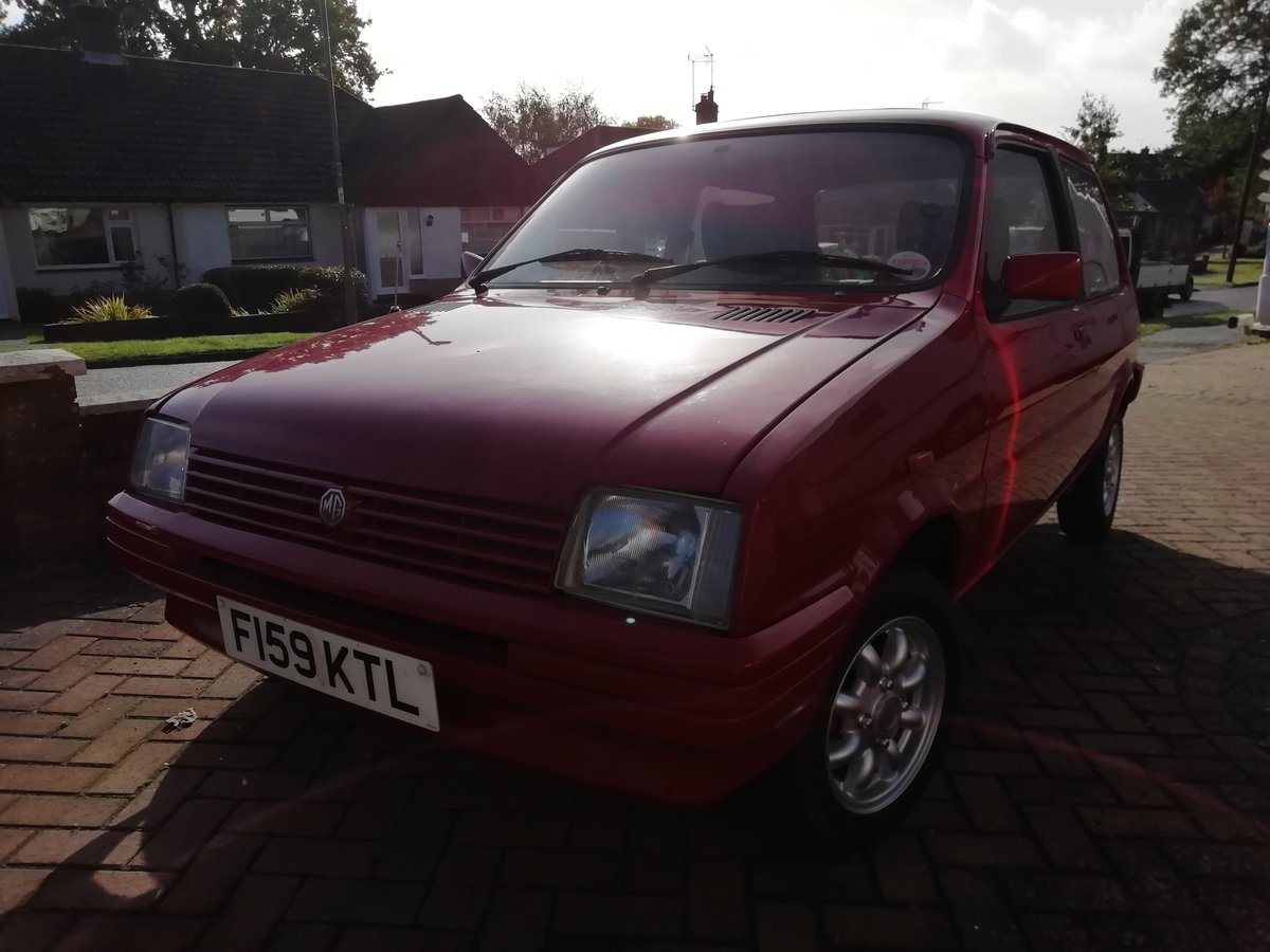 1989 MG Metro Mk 2  For Sale (picture 6 of 6)