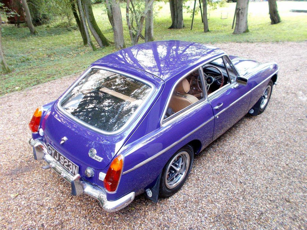 MGB GT 1974 Older Restoration  SOLD (picture 1 of 6)