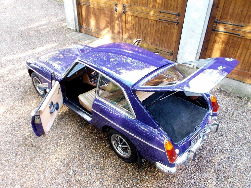 MGB GT 1974 Older Restoration  SOLD (picture 2 of 6)