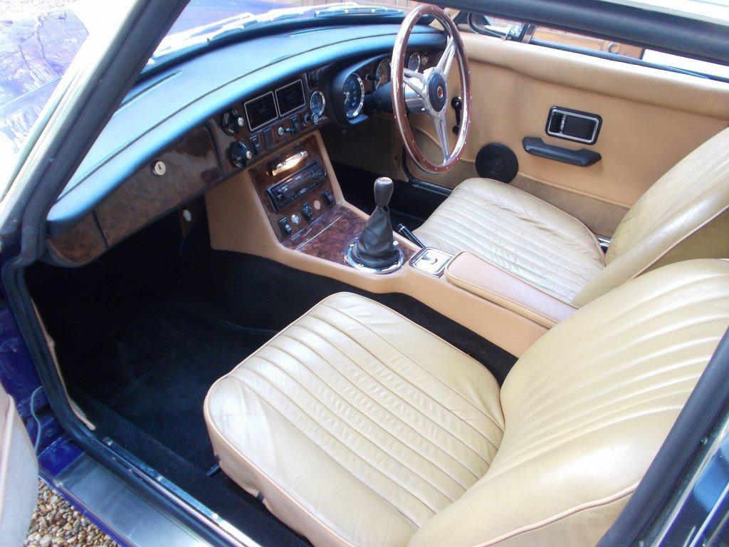 MGB GT 1974 Older Restoration  SOLD (picture 4 of 6)