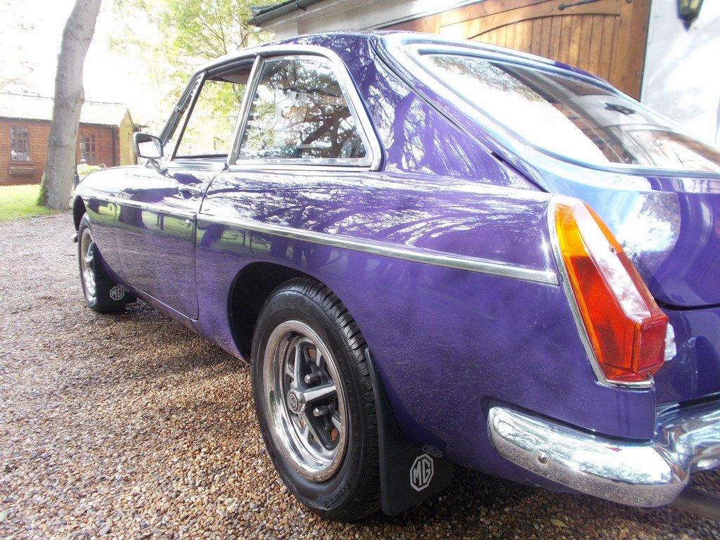 MGB GT 1974 Older Restoration  SOLD (picture 6 of 6)