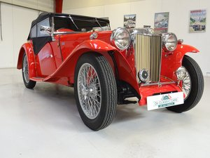 1936 MG TA – fully restored For Sale