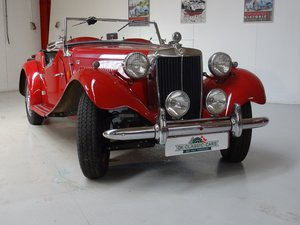 1950 MG TD – Matching numbers car For Sale