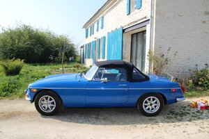 1976 MGB Roadster LHD  For Sale