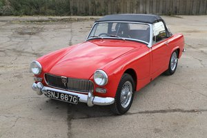 1969 MG Midget Mk3, only 6200 miles 1275cc For Sale
