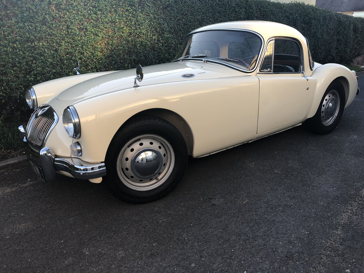 Picture of 1961 MGA 1600cc Coupe Old English White LHD For Sale
