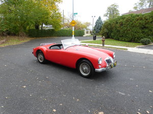 1957 MG A 1500 Roadster Runs Drives Needs Restoration - For Sale
