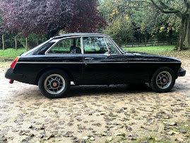 1980 MG BGT Black overdrive