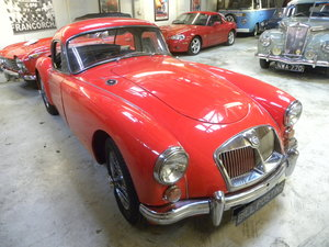 1959 MGA 1600 COUPE.RESTORED.COMPETED IN 1960 MONTE CARLO RALLY For Sale