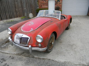 1957 MGA 1500 Roadster to Restore , Free Shipping For Sale