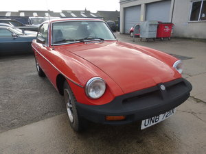 1981 MGB GT One owner, very sound car. For Sale