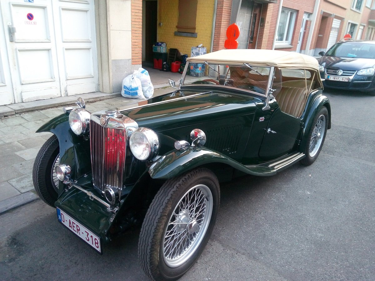 1947 Beautiful MG TC 1948 For Sale (picture 1 of 6)