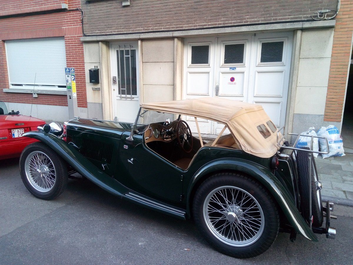 1947 Beautiful MG TC 1948 For Sale (picture 2 of 6)