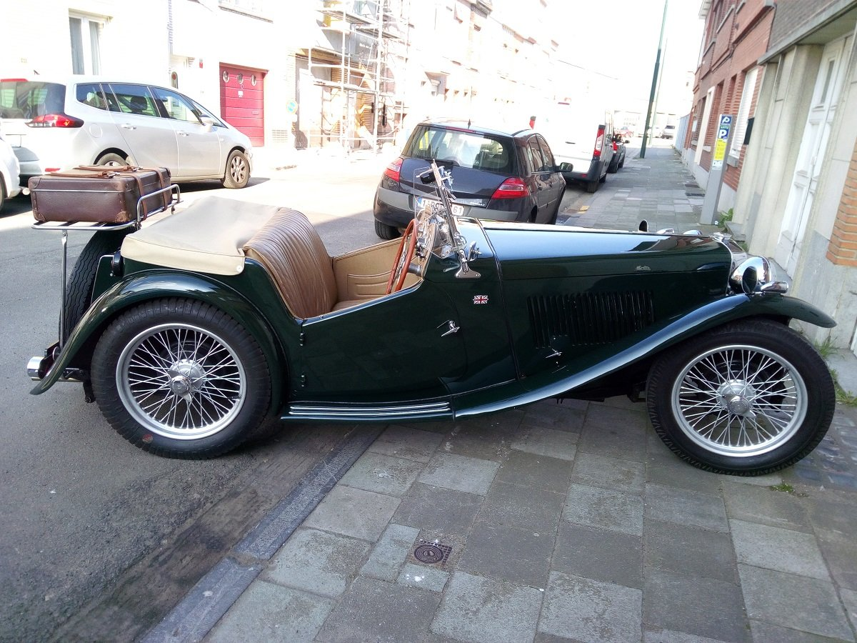 1947 Beautiful MG TC 1948 For Sale (picture 3 of 6)