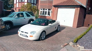1999 MGF Olde English white Restored Immaculate  For Sale