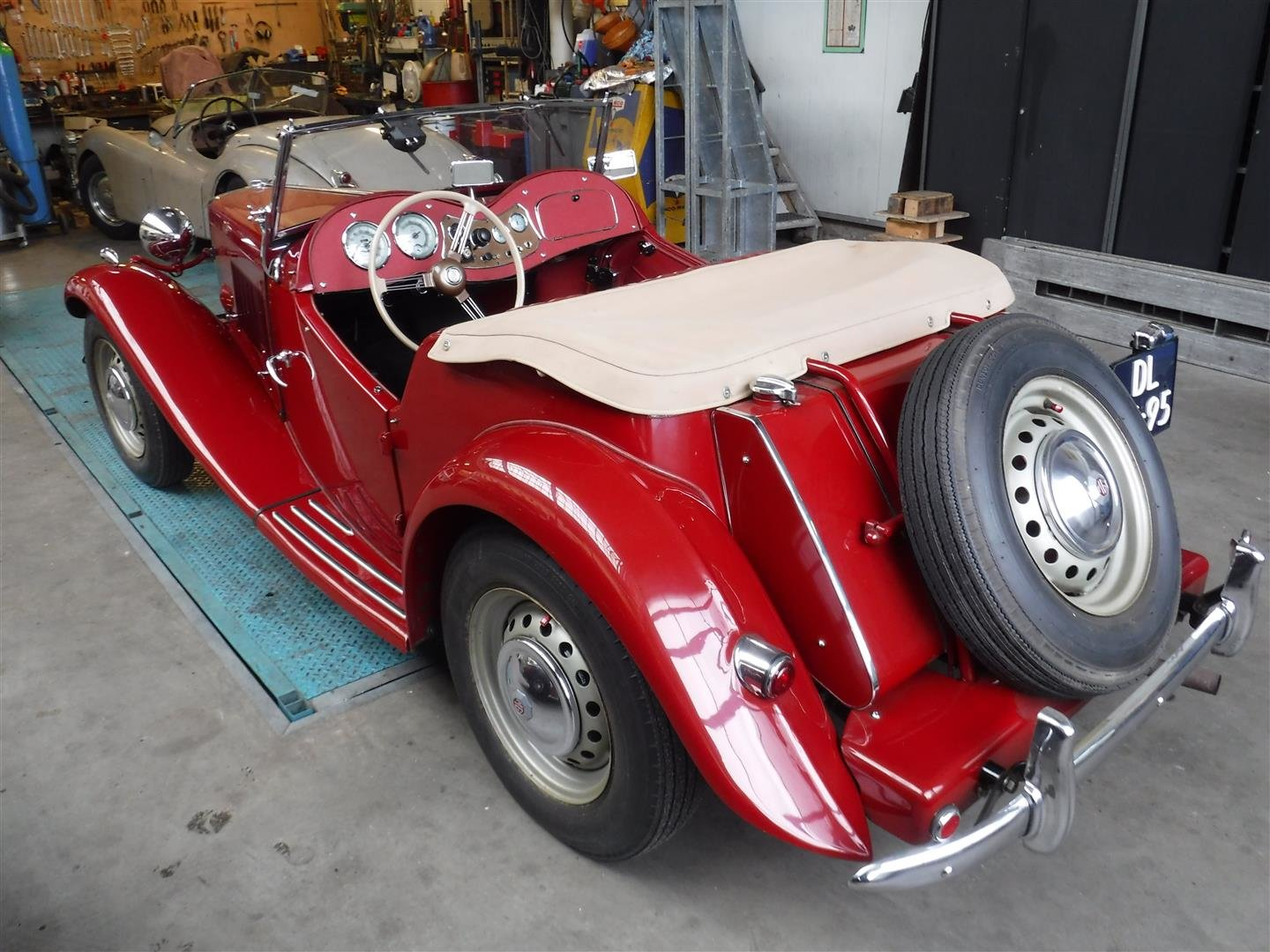 1952 MG TD '52 (PERFECT!!!) For Sale (picture 5 of 6)