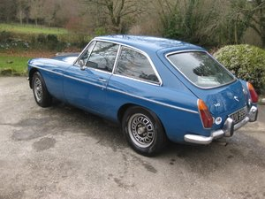 1971 MGB GT V8 efi Massive Spec