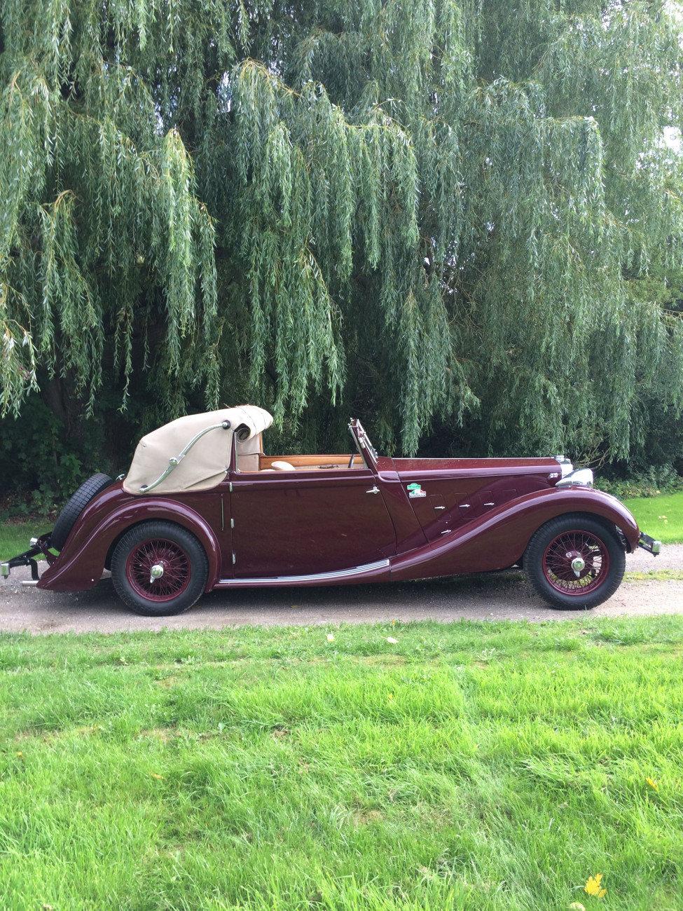 1936 MG SA Tickford SA1228 For Sale (picture 1 of 6)