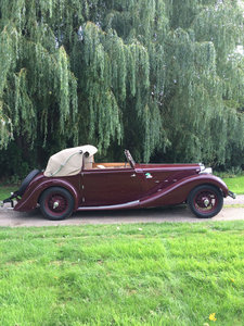 1936 MG SA Tickford SA1228