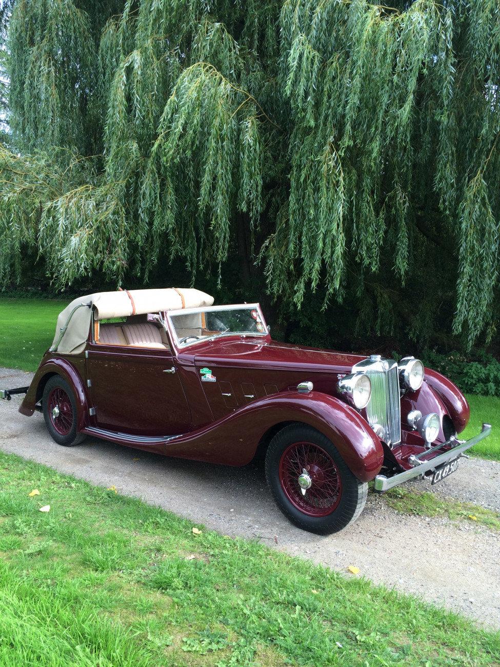 1936 MG SA Tickford SA1228 For Sale (picture 2 of 6)