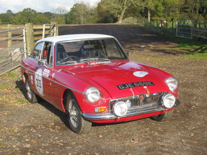 1967 MGB GT Rally Car For Sale