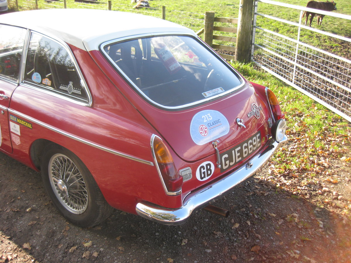 1967 MGB GT Rally Car For Sale (picture 3 of 6)