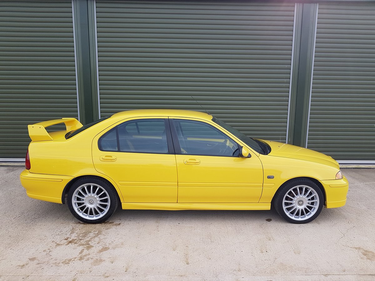 2003 MG ZS 180 V6 - Low Mileage, Stunning condition For Sale (picture 2 of 6)