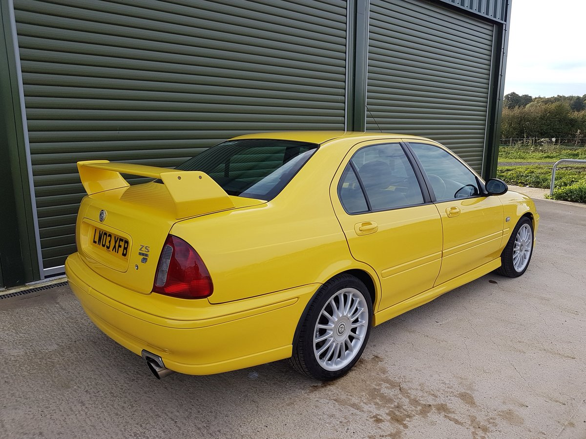 2003 MG ZS 180 V6 - Low Mileage, Stunning condition For Sale (picture 3 of 6)