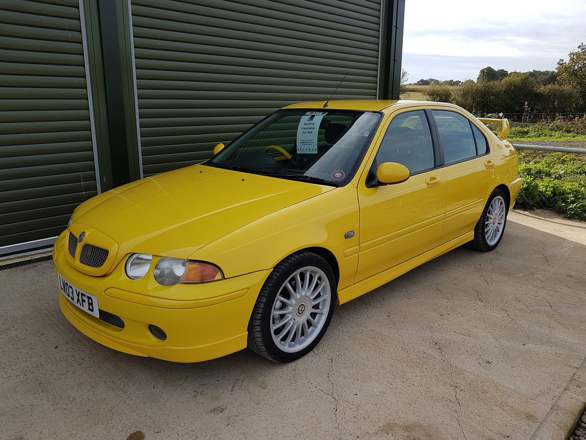 2003 MG ZS 180 V6 - Low Mileage, Stunning condition For Sale (picture 4 of 6)