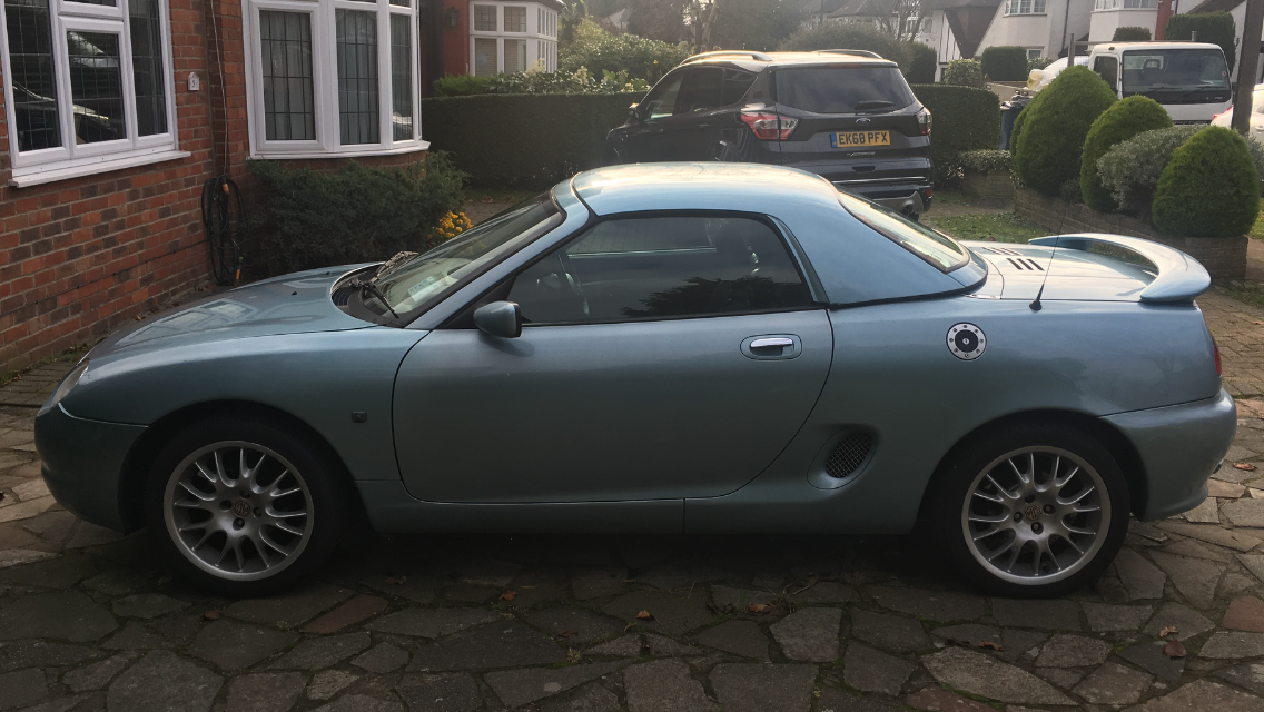 2000 MG MGF Wedgewood  SOLD (picture 1 of 5)
