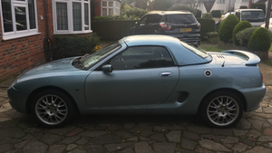 2000 MG MGF Wedgewood