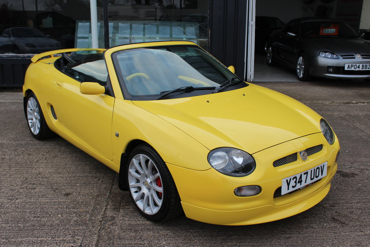 2001 MGF TROPHY 160,LOTS OF RECEIPTS, HEADGASKET, BELT&PUMP For Sale (picture 1 of 6)