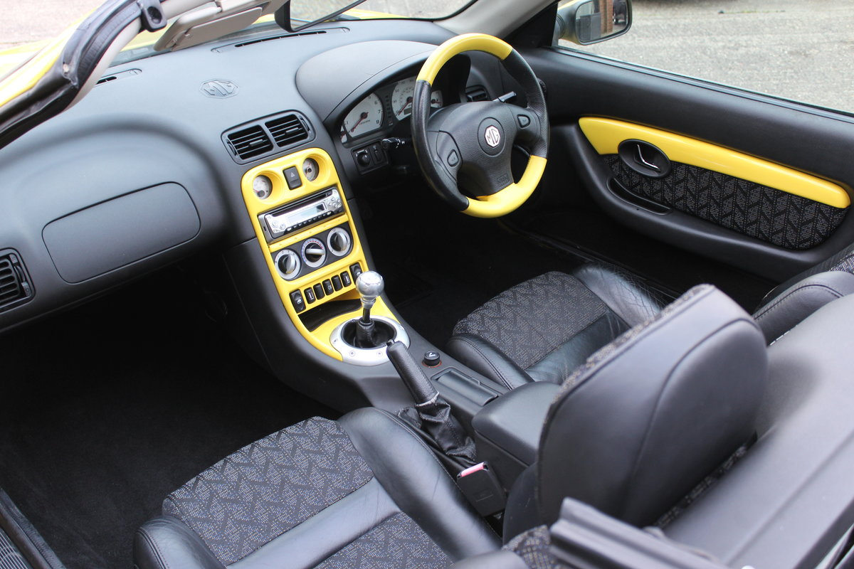2001 MGF TROPHY 160,LOTS OF RECEIPTS, HEADGASKET, BELT&PUMP For Sale (picture 3 of 6)
