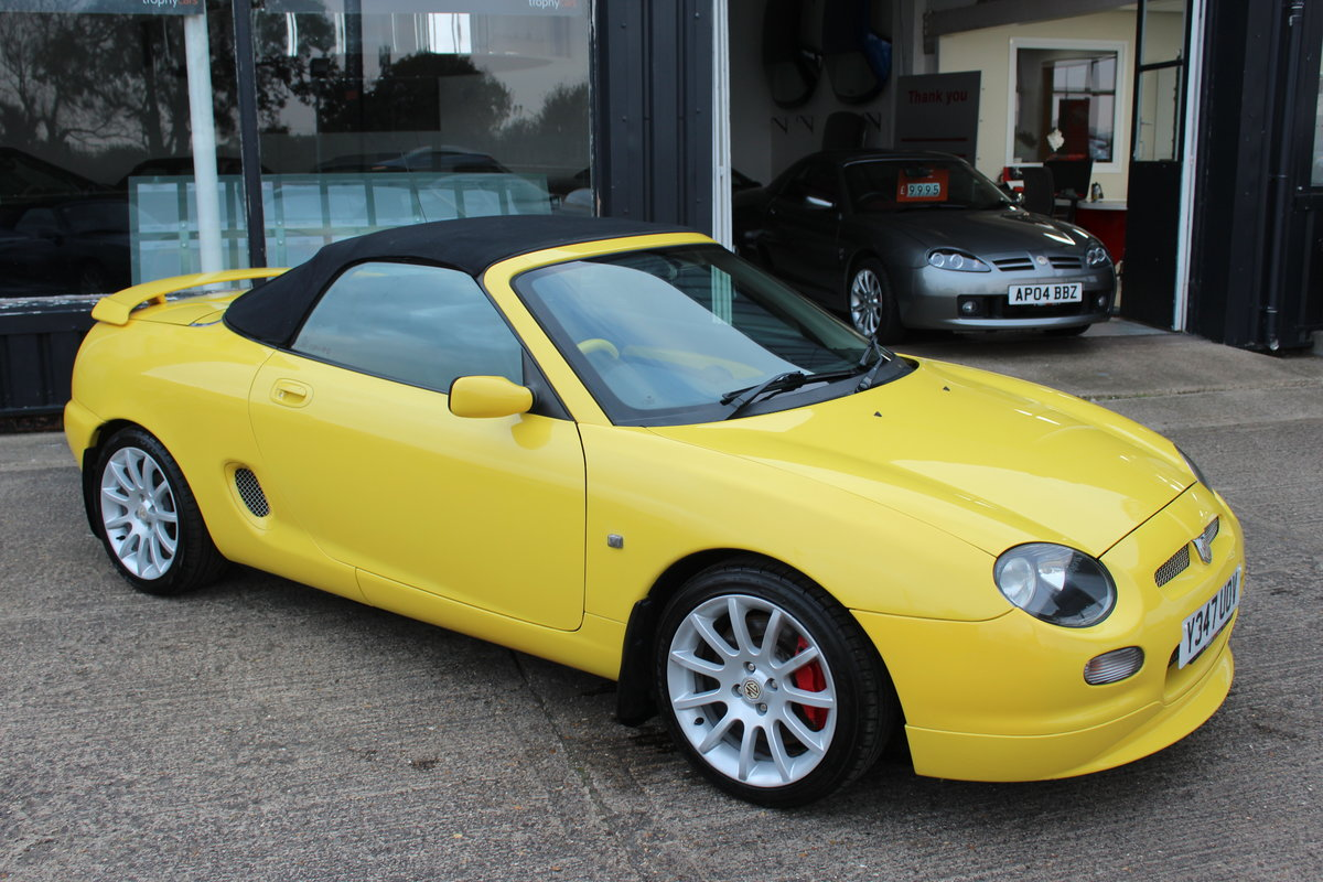 2001 MGF TROPHY 160,LOTS OF RECEIPTS, HEADGASKET, BELT&PUMP For Sale (picture 5 of 6)