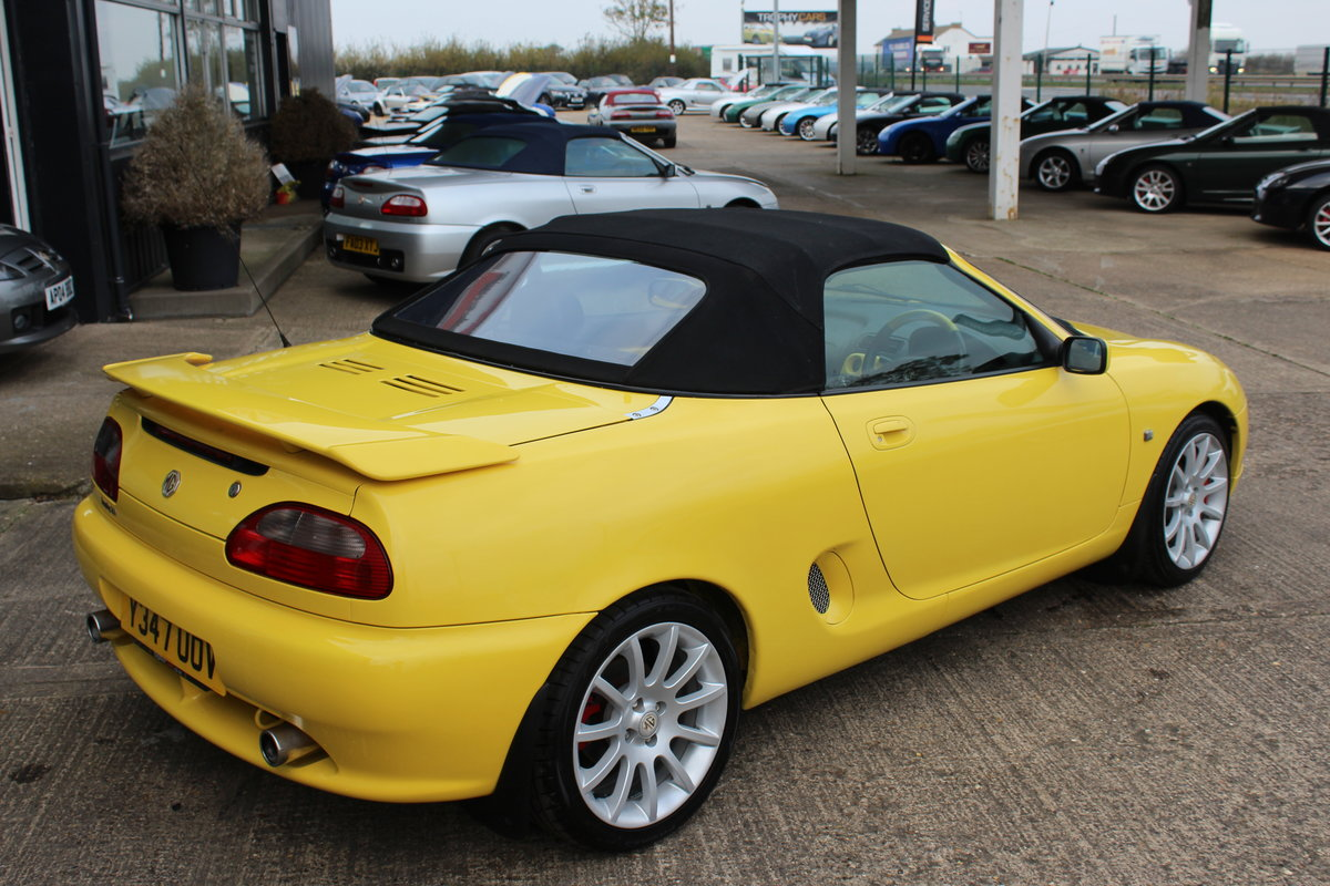 2001 MGF TROPHY 160,LOTS OF RECEIPTS, HEADGASKET, BELT&PUMP For Sale (picture 6 of 6)