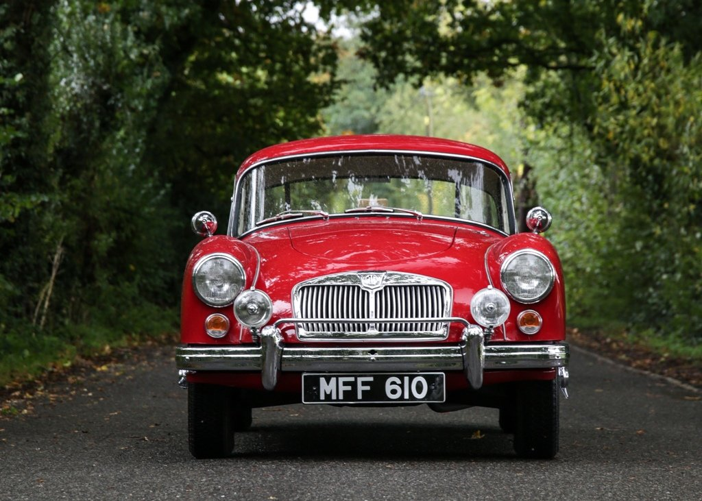 1960 MG A Coup SOLD by Auction (picture 1 of 6)