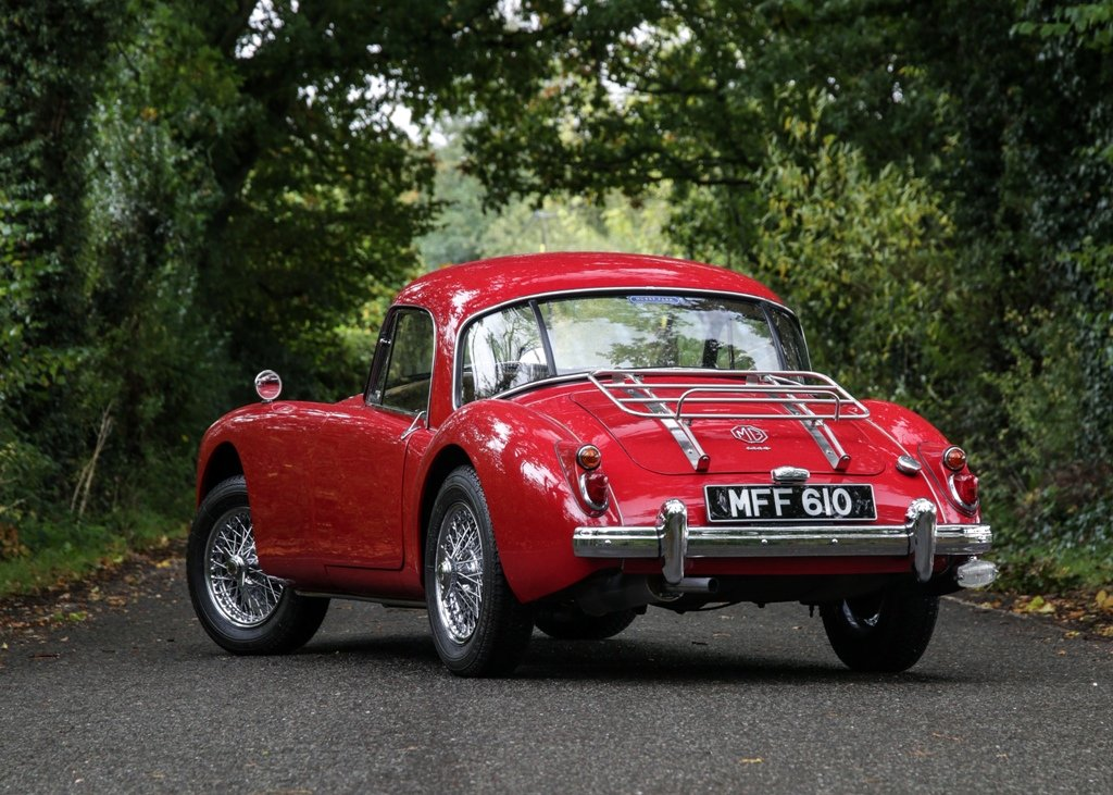 1960 MG A Coup SOLD by Auction (picture 2 of 6)