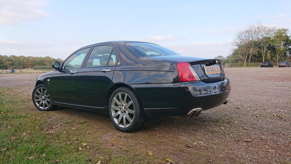 2004 MG ZT 260 4.6 V8 RWD MANUAL VERY RARE CAR For Sale (picture 2 of 5)