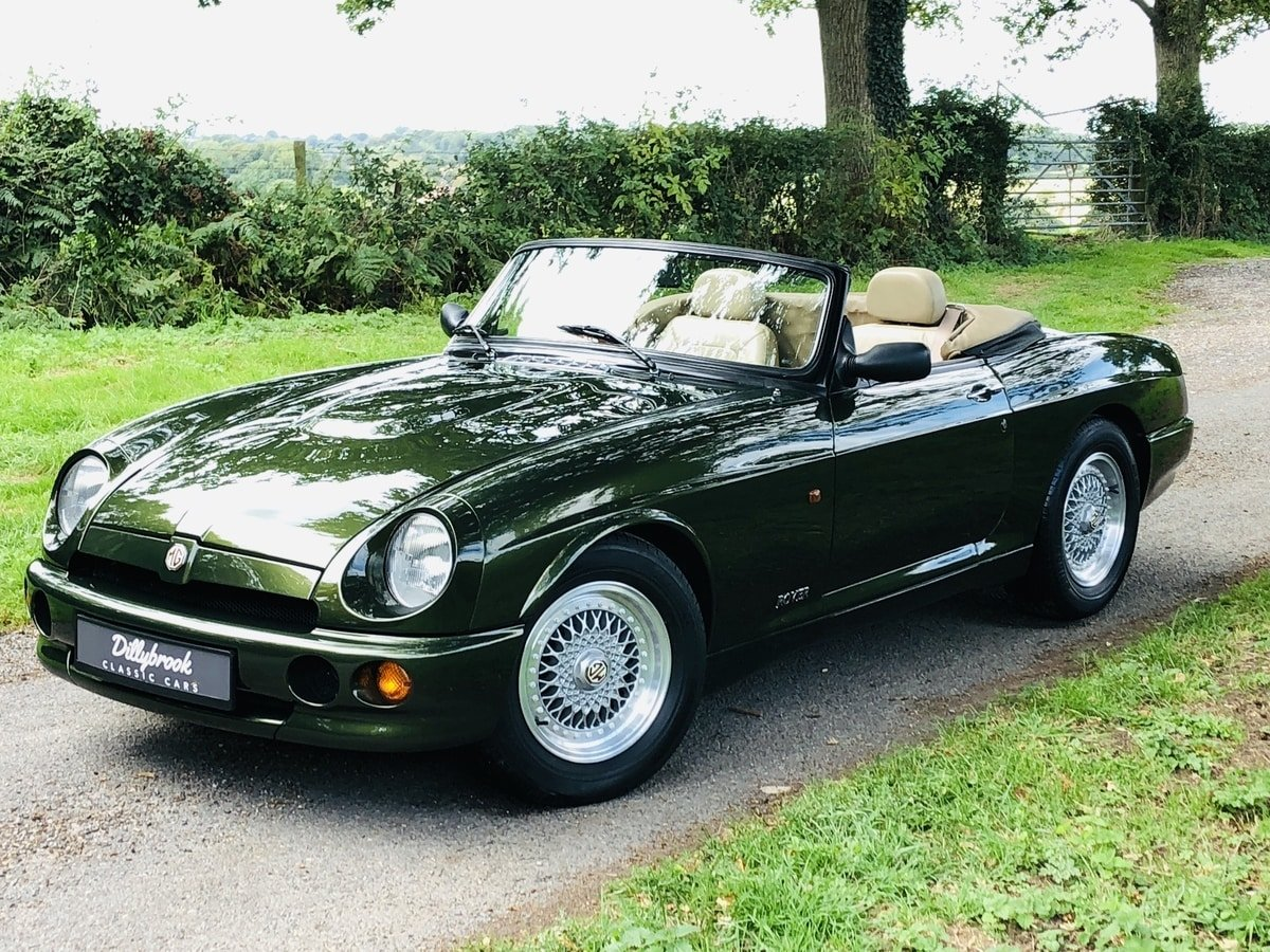 1994 MG RV8  3.9 V8 Roadster 49000 miles For Sale (picture 1 of 6)
