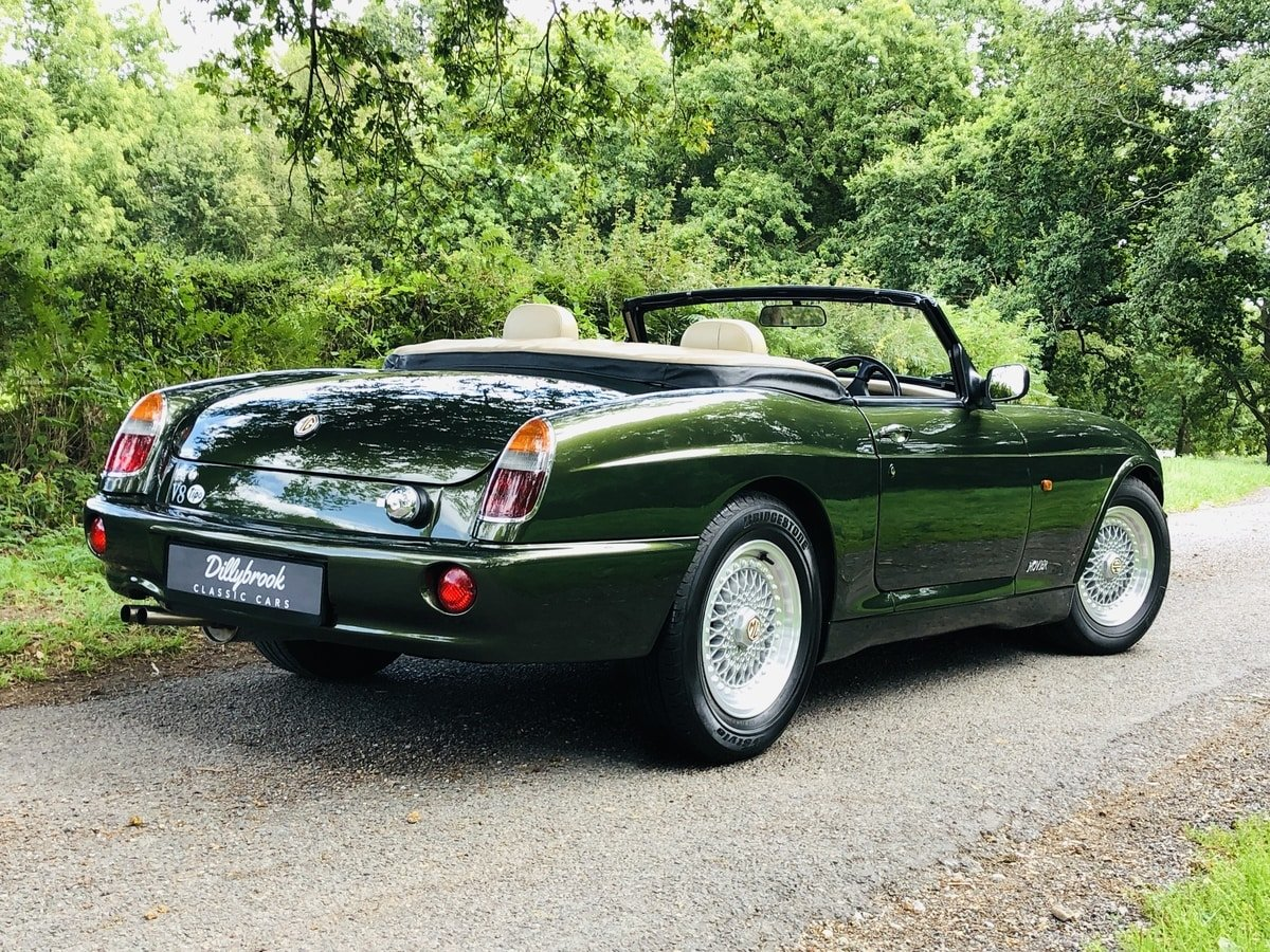 1994 MG RV8  3.9 V8 Roadster 49000 miles For Sale (picture 2 of 6)