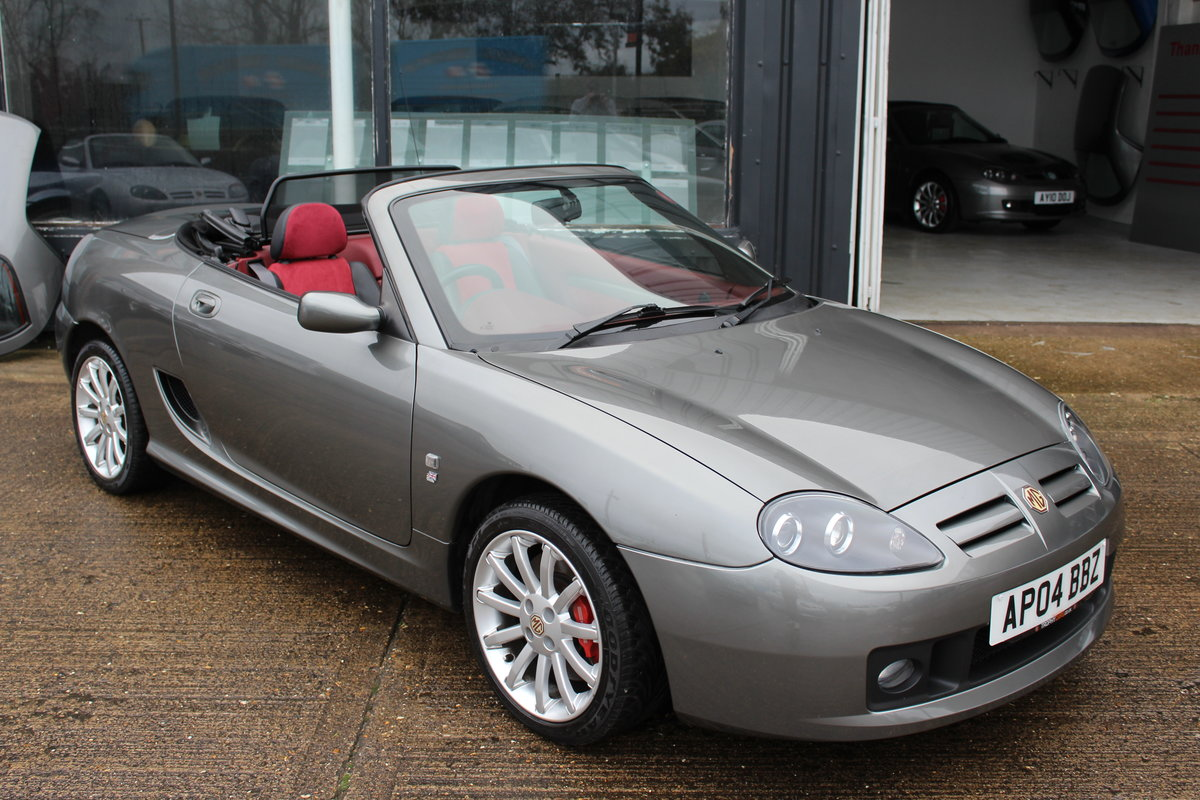 2004 MGTF 160, 7000 MILES, RARE COLOUR COMBINATION,HARDTOP SOLD (picture 1 of 6)