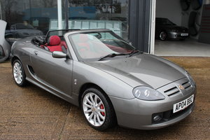 2004 MGTF 160, 7000 MILES, RARE COLOUR COMBINATION,HARDTOP SOLD
