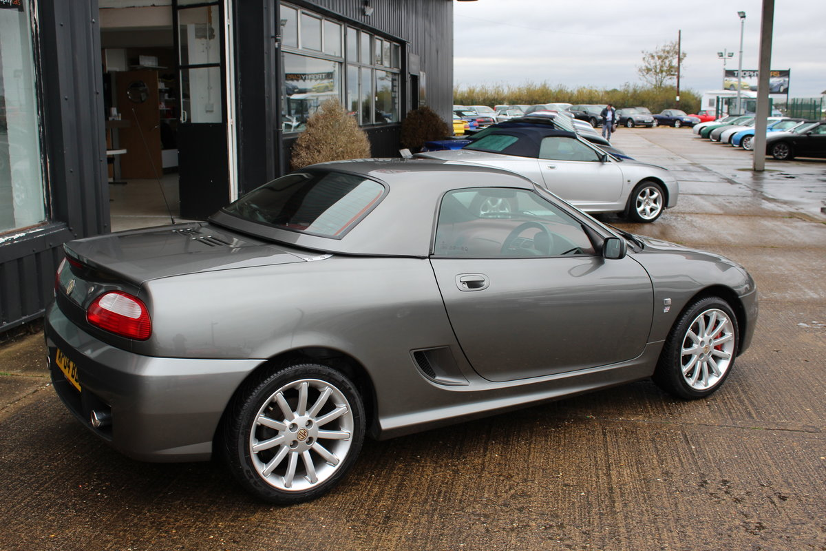 2004 MGTF 160, 7000 MILES, RARE COLOUR COMBINATION,HARDTOP SOLD (picture 6 of 6)