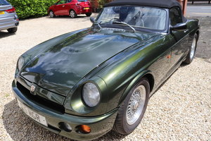1994 MG RV8 ,Immaculate throughout, with private plate For Sale