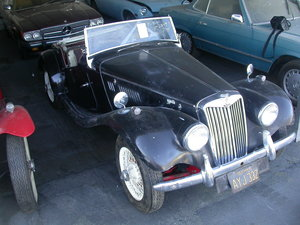 Picture of 1955 US SPEC MG TF 1500 ORIGINAL PAINT DRY STORED MANY YRS  SOLD