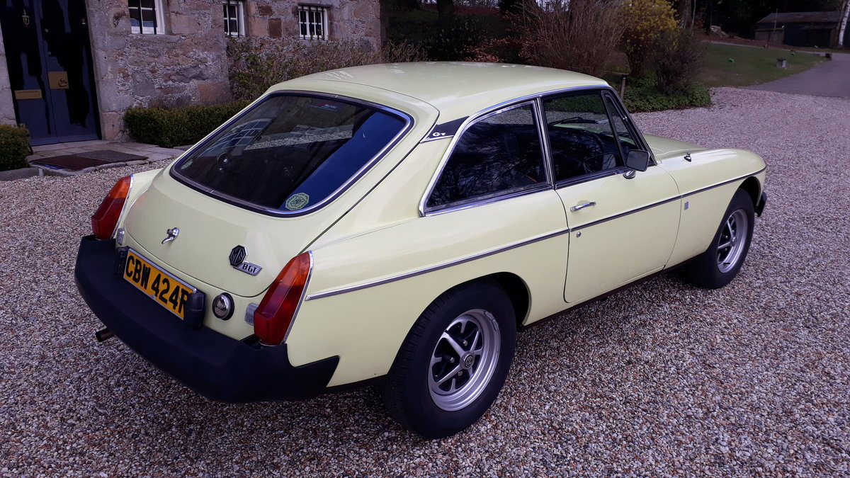 1977 Mgb gt For Sale (picture 2 of 6)
